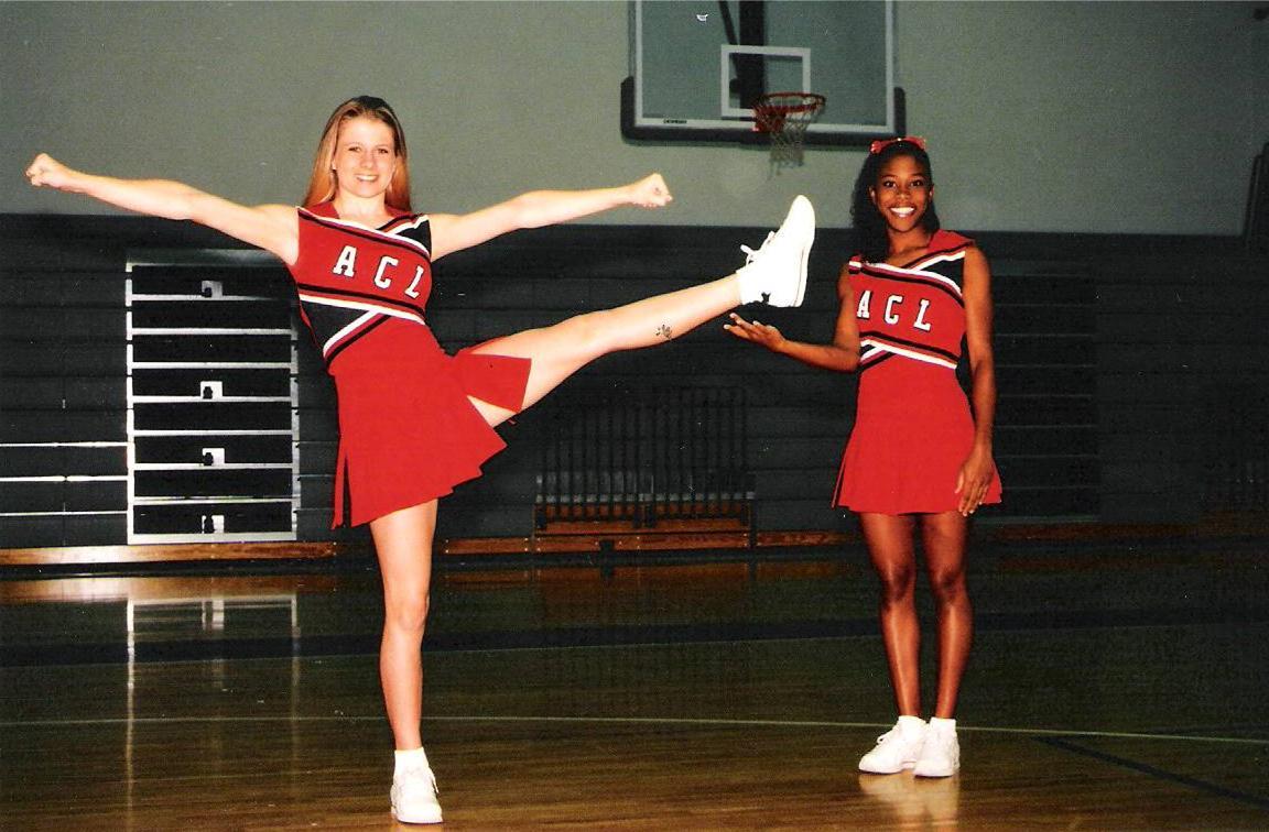 Cheerleader Kick Nicely ~ Al Mubins