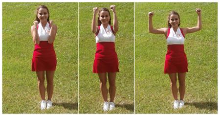 Cheerleading Motions Box