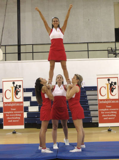 How to Improve Your Balance as a Cheerleading Flyer