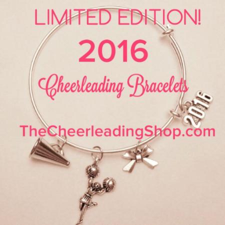2016 Cheerleading Charm Bracelet