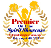 Premier Logo 2017 Spirit Showcase Square with Date 170x159