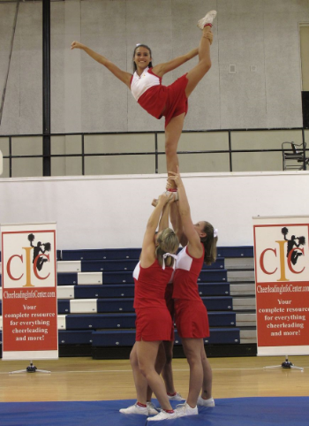 Cheerleading Stunt Flyer Tips