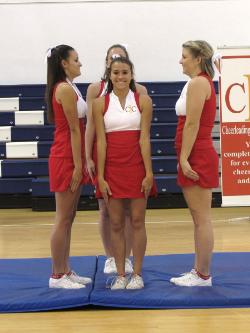 Cheerleading Flyer Climbing Tips