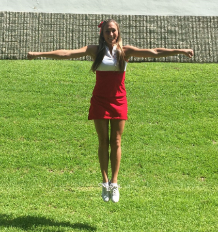 Cheerleading Straight Jump