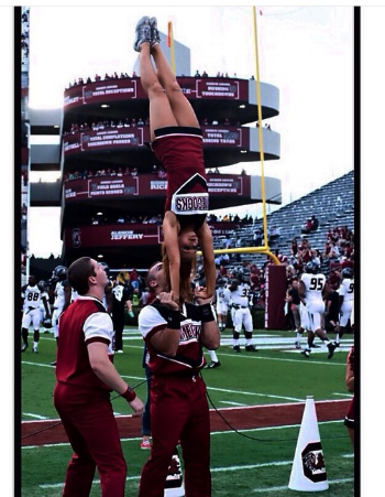 How to do cheerleading stunts.