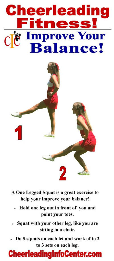 Exercises for Cheerleaders - How to Be A Great Flyer