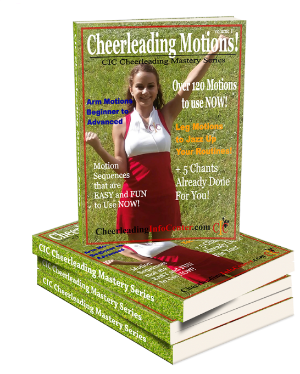Cheerleading Motions Guide for Beginners and Intermediate Cheerleaders