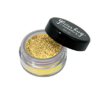 Gold Glitter Cheerleading Make Up