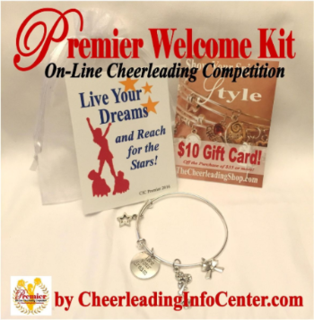 Premier On Line Cheerleading Competition Welcome Kit