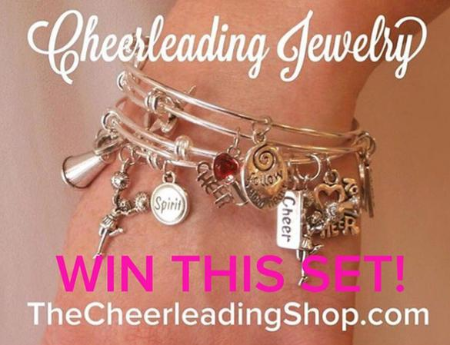 Cheerleading Bracelet Set