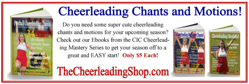 Cheerleading Chants and Motions