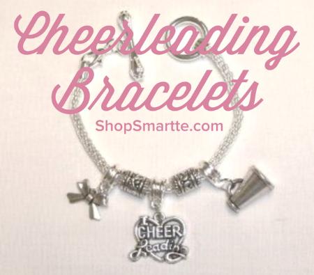 Cheerleading Silver Rope Bracelets