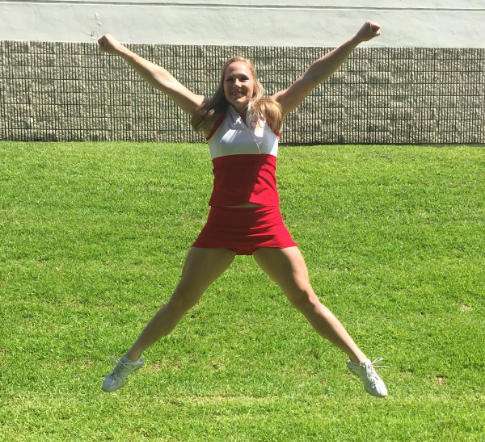 How to Do A Cheerleading Spread Eagle Jump