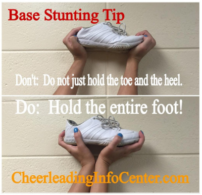 Cheerleading Stunting Tips