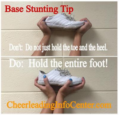 Cheerleading Stunting Tips