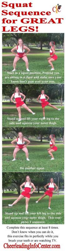 Exercises for Cheerleaders