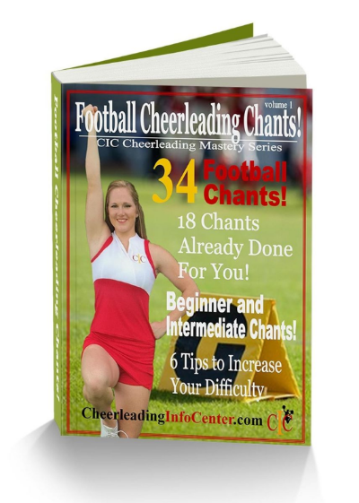 Football Chants Ebook from the CIC Cheerleading Mastery Series