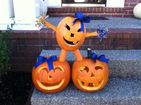 Cheerleading Pumpkin