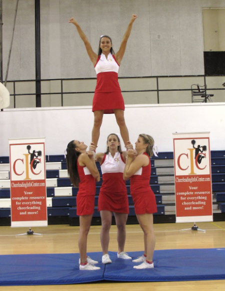 Cheerleading Ground Up Full Stunt