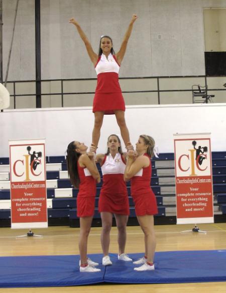 Cheerleading Ground Up Full Stunt