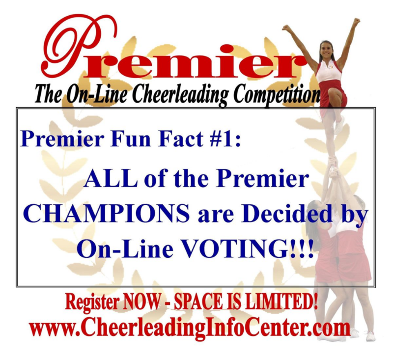 Premier On-Line Cheerleading Competition