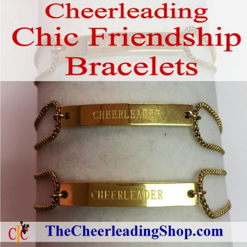 Cheerleading Friendship Bracelet