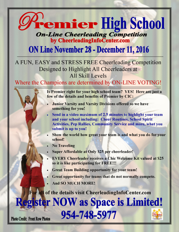 Premier Cheerleading Competition