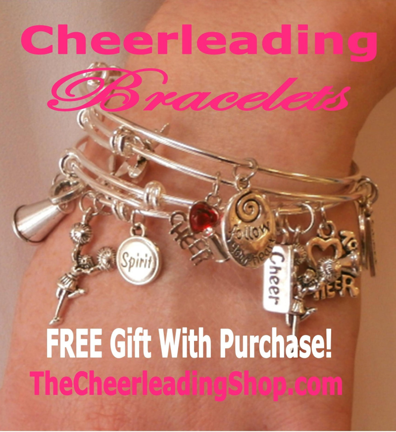 Cheerleading Bracelet Stack Gift With Purchase