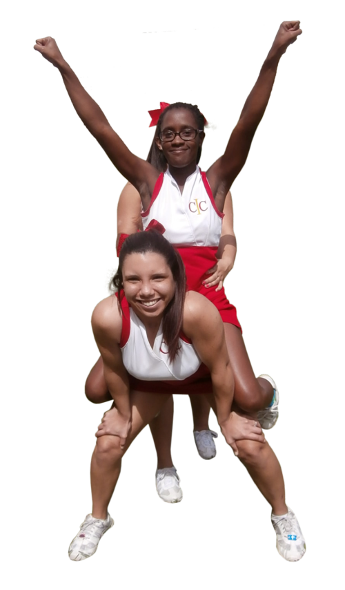 Cheerleading Beginning Stunt - Pony Mount