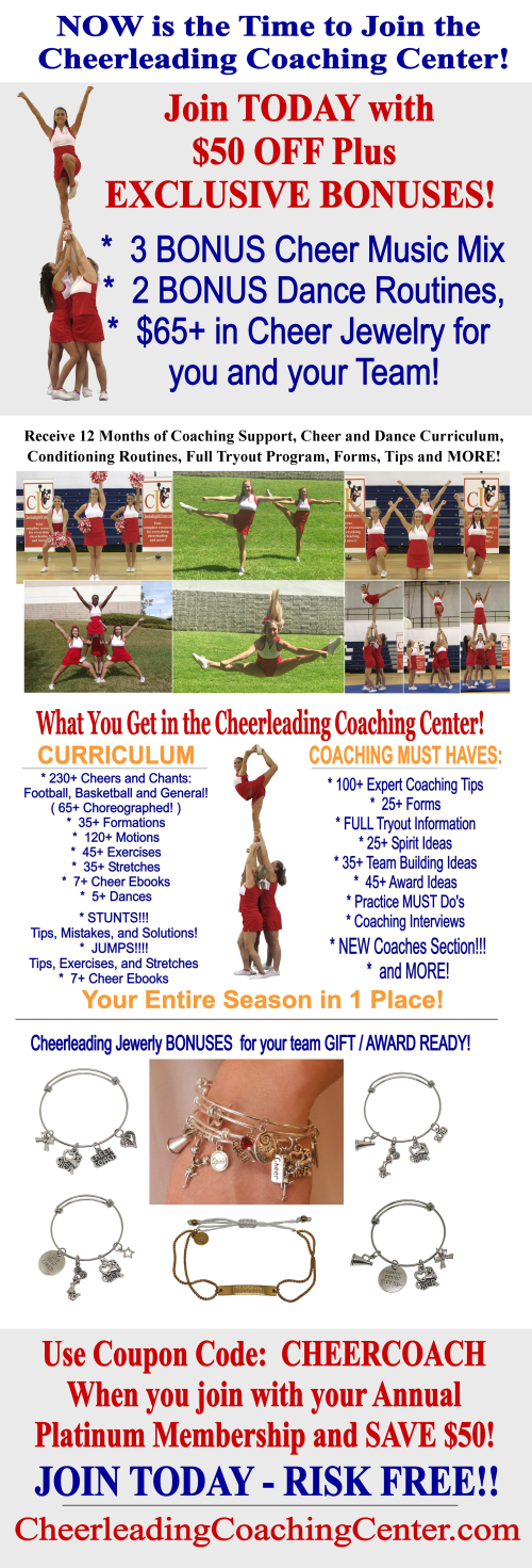 How to Coach Cheerleading