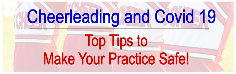 Cheerleading and Covid 19 practice tips