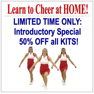 Learn to Cheer at Home Sale