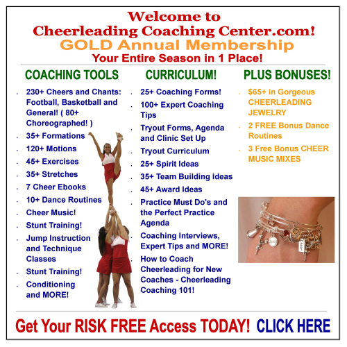 How to Coach Cheerleading at the Cheerleading Coaching Center