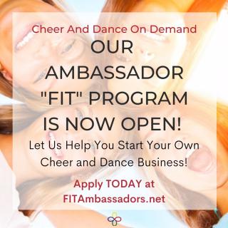 Cheerleading Ambassador Program